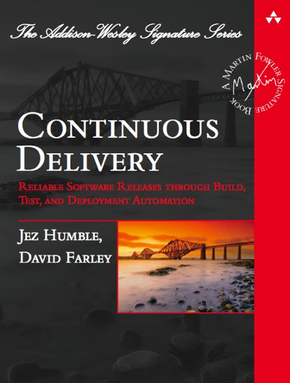 Book: Continuous Delivery by Jez Humble and David Farley